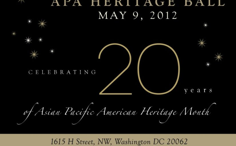 APA Heritage Ball: Honoring our Public Service Leaders & Inspiring the Next Generation