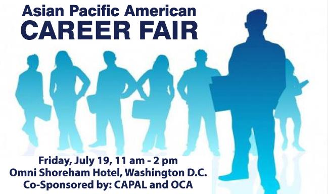 CAPAL and OCA to Co-Host APA Career Fair